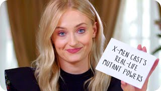 Sophie Turner Reveals Her X-Men Costars' Real Mutant Powers // Omaze
