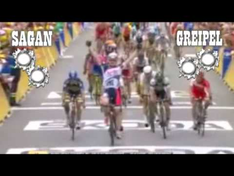 Two Great Guns: Greipel and Sagan