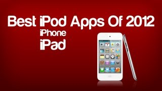 Top 5 iPhone/iPod Touch Games of 2012