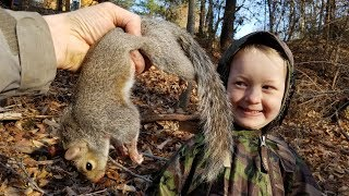 Squirrel Hunting - How to Catch, Clean & Cook Squirrel (Awesome Squirrel Recipe)
