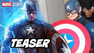 Avengers Evil Captain America First Look Teaser Breakdown - Marvel Phase 4