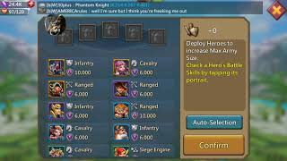 Lord's Mobile Defense and Counterattack Tactics. Protect yourself and your Guild!