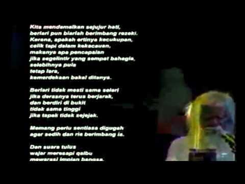Puisi Benih Harapan - A. Samad Said