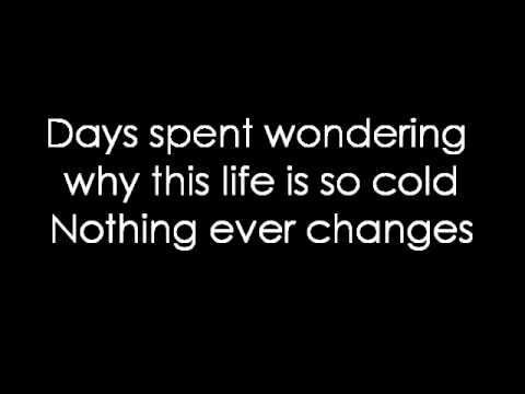 12 Stones - Waiting For Yesterday (lyrics)