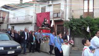 Processione San Francesco 2013 a Sartano (CS)