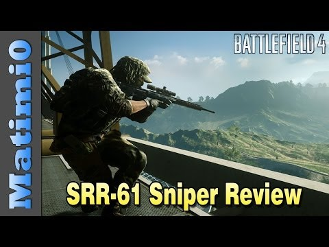 SRR-61 Sniper Review - Laser Beam Accuracy - Battlefield 4