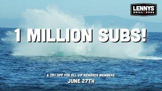 1 Million Subs?!?!