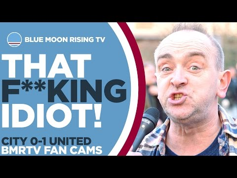 That F**king Idiot! | Manchester City 0-1 Manchester United