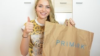 Primark HAUL (My first Video)