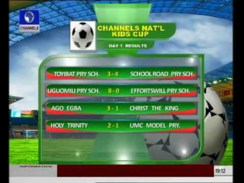 Goals galore as Channels Nat'l Kids Cup kicks off