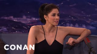 Sarah Silverman's Marijuana Adventures With Her Parents  - CONAN on TBS