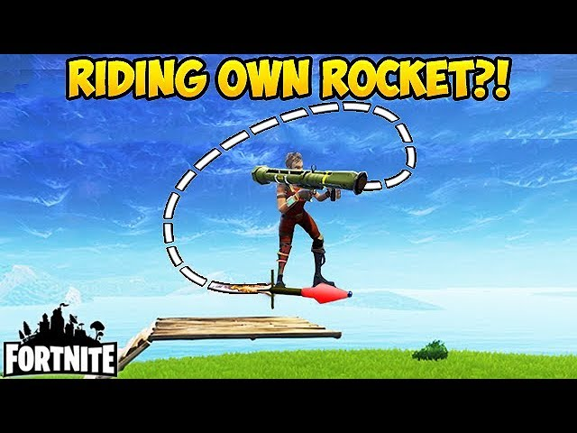 HOW TO ROCKET RIDE YOURSELF! - Fortnite Funny Fails and WTF Moments! #150 (Daily Moments)