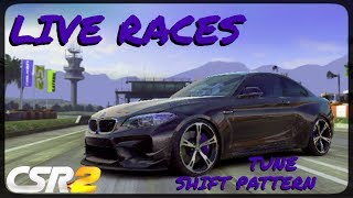 CSR Racing 2 - BMW ACS2 - Tune and shift pattern - Live races