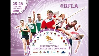 LIVE International Match Meeting Juniors Minsk 2020 Day 1