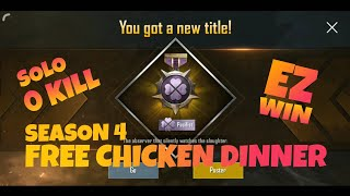 How to get Free Chicken Dinner | PUBG Mobile