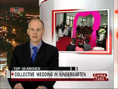 Wedding in kindergarten - China Take - January 17,2013 - BONTV China