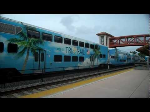 Florida's Tri Rail in Hollywood, FL - June 2012