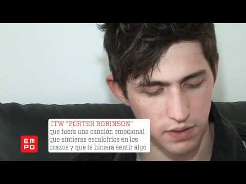 Entrevista Porter Robinson IMS 2012