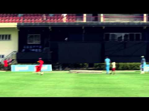 Darren Sammy Practicing Big Hits!