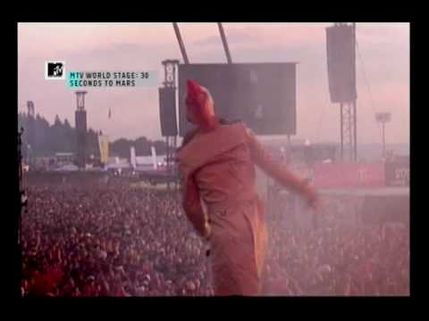 30 Seconds to Mars - Night of the hunter(live at Rock Am Ring 2010) Music Videos