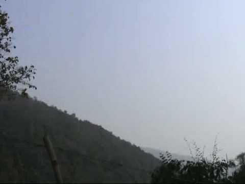 Guojiatou border between China and Myanmar (Kokang)