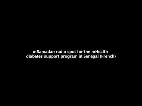 mRamadan radio spot for the mHealth diabetes support program in Senegal (French)
