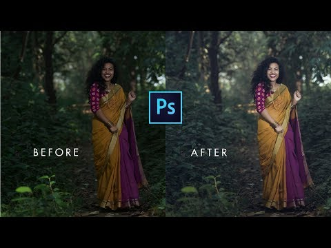 Photoshop cc Tutorial: How to edit photo | How to retouch outdoor portrait | photo editing photoshop