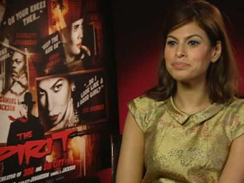 Does Eva Mendes prefer good guys or baddies? Video