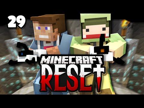 Minecraft RESET #29 | FULL DIA! | unge & Dner