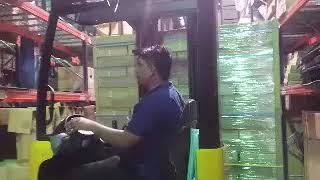 Saudi Arabia Jeddah Al khomra my working Petro min Nissan werhuos (rechtruck) forklift operatoring