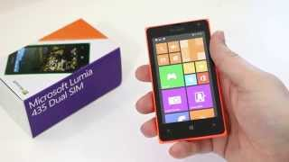 Microsoft Lumia 435 unboxing and first impressions