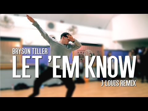 Bryson Tiller - Let 'Em Know (J-Louis Remix) | David Cottle Choreography | @DavidCottle96