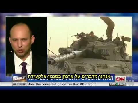 עימות של נפתלי בנט נגד נציג חמאס