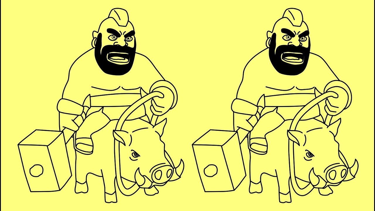 Clash of Clans Drawings How to Draw Clash of Clans