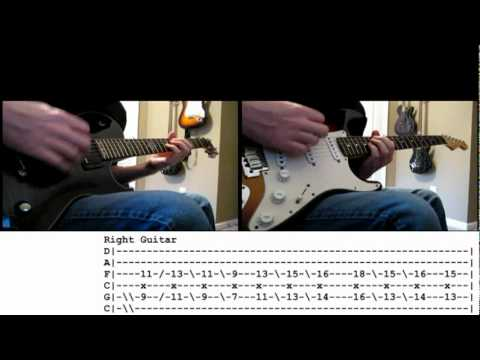 Bfmv - All These Things I Hate Cover With Tabs For Guitar #2 video