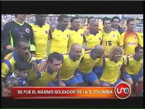 Se fue el máximo goleador de la selección Colombia