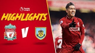 Firmino & Mane doubles sink Burnley | Liverpool 4-2 Burnley | Highlights
