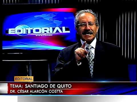 EDITORIALES VIERNES 15 AGOSTO 2014    SANTIAGO DE QUITO