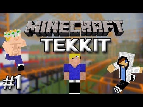 Minecraft Tekkit - Deel 1 Daan, Duncan en Stan