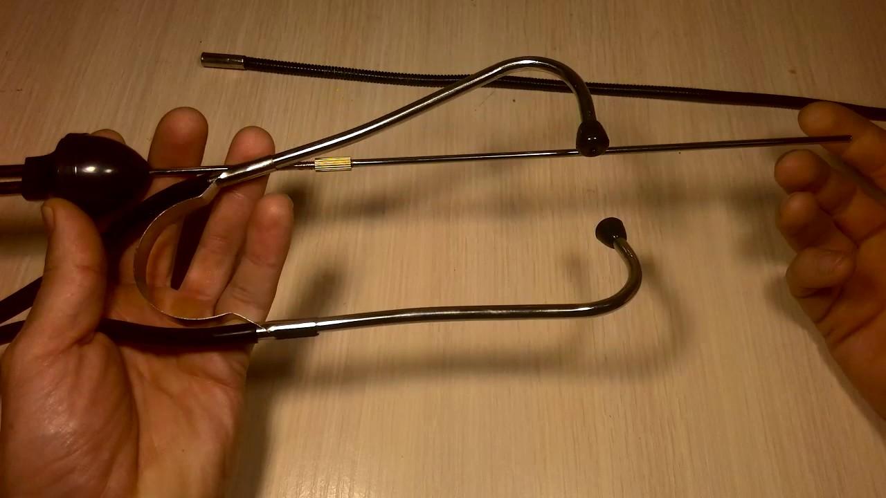 Стетоскоп для двигателя своими руками 38