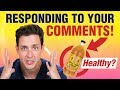 Apple Cider Vinegar Benefits? | Responding to Your Comments | Doctor Mike