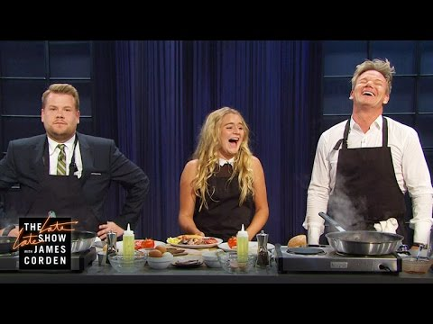 English Breakfast with Gordon and Matilda Ramsay