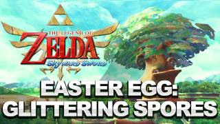 Zelda: Skyward Sword Easter Egg - Glittering Mushroom Spores