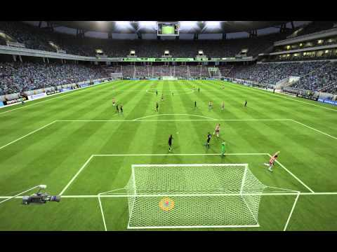 Goal of the year - FIFA 15 - Radamel Falcao [RAW UNEDITED]