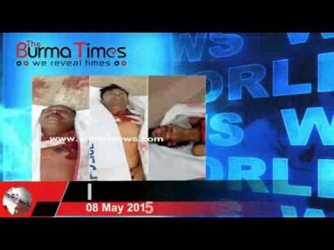 Burma Times TV  Daily News 08.05.2015