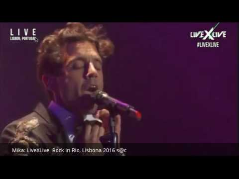 Mika: LiveXLive  Rock in Rio, Lisbona 2016