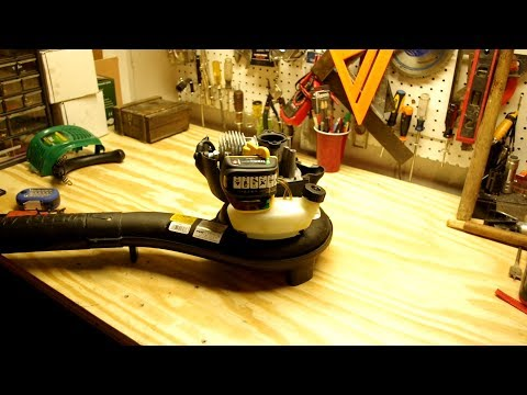 How to Start a Leaf Blower / Weed Eater - Restoring Small Engine Compression