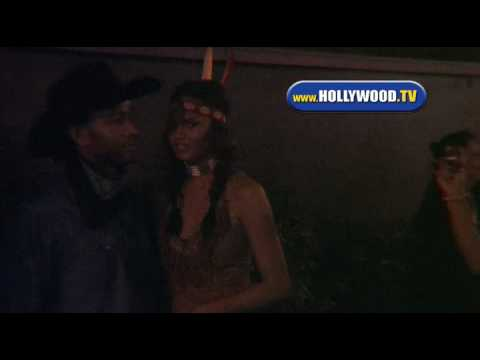 John Legend & Chrissy Teigen At Pur Jeans Halloween Bash