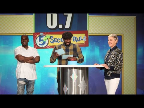 5 Second Rule with Kanye West