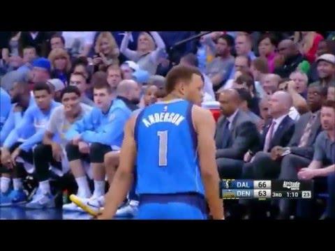 Mavericks vs Nuggets | Team Highlights - March 28, 2015
